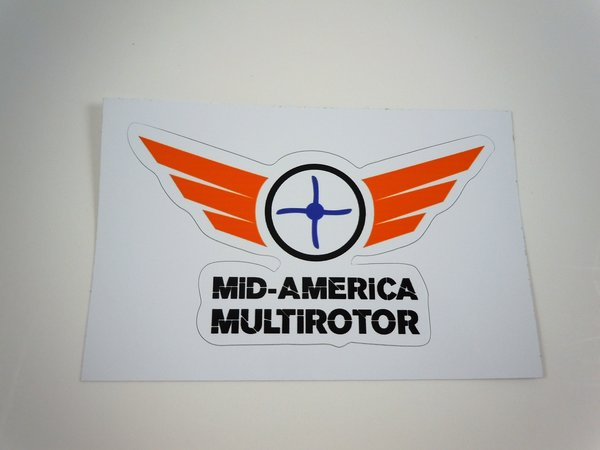 Mid-America Multirotor Sticker 3 pack