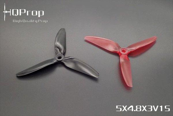 HQProp DP 5x4.8x3 PC V1S Propeller - 3 Blade (2CW+2CCW/Bag)