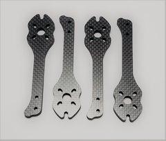 """MAMR 5"""" StretchX Carbon Fiber Arms (Optional 5mm Thick)"""