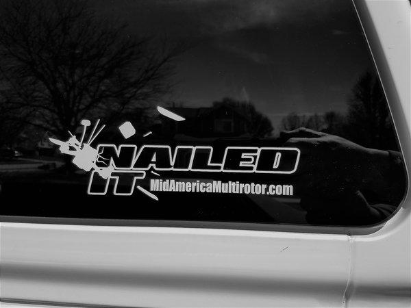 "MAMR ""Nailed It"" Window Decal"