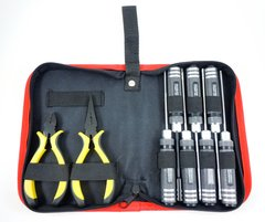 MAMR 9-piece tool set with zippered case