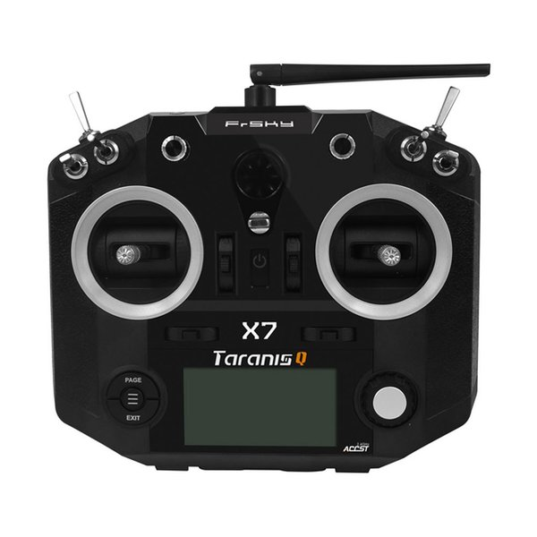 FrSky Taranis Q X7 2.4GHz 16CH Transmitter (Black) w/free shipping