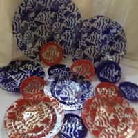 Kicking Glass by Sheree, Dinner Plate
