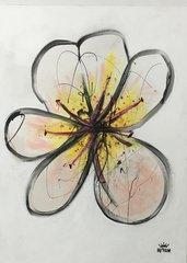"""Bjorn Davidson, Untitled, acrylic, 48"""" x 64"""" 2016"""