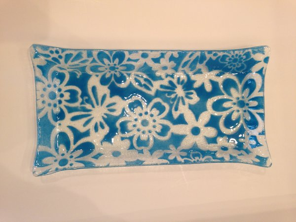 Kicking Glass by Sheree, Bread Plate