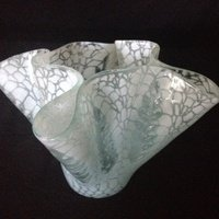 Kicking Glass by Sheree, Vase