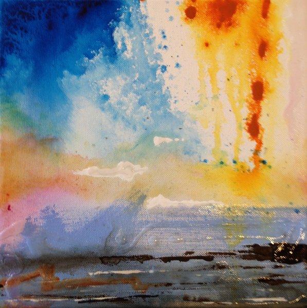 "Craig McInnis, ""Abstract Composition"" 10"" x 10"""