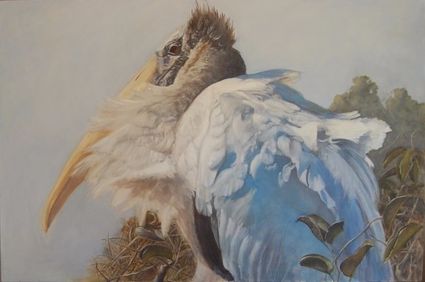 Gwen Eyeington Everglades Cold Front, 2015 Oil on Canvas