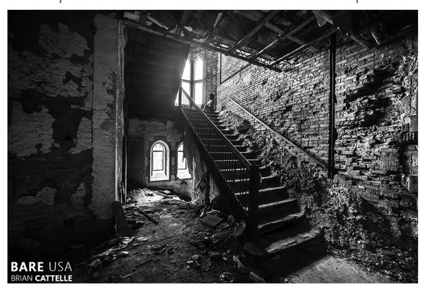 "Brian Cattelle, Photograph, City Methodist Church 05 | Gary IN 24"" x 36"""