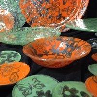 Kicking Glass by Sheree, Spaghetti Bowl