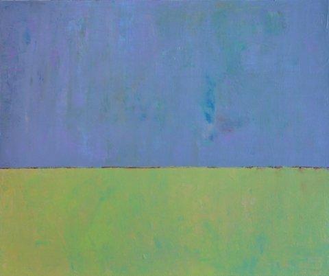 """Doreen M. Grasso, Crossing the Line VI, 2015,Acrylic on Canvas, 30"""" x 36"""""""
