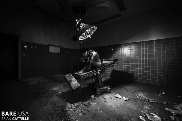 "Brian Cattelle, Photograph, St. Marie Hospital 01 | St. Marie MT 24"" x 36"""