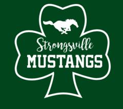 Strongsville Mustang Shamrock