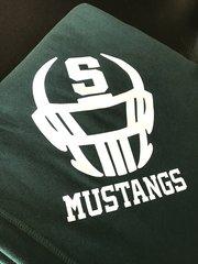 Fighting Mustang Blanket