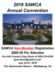 2018 70th Annual Convention Non-Member Registration