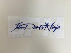 "JDM Parts Ninja ""JPN"" Sticker Reversed"