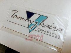 """Tommykaira """"Owners Club"""" sticker"""
