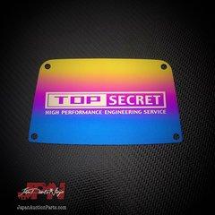 Top Secret x JDM Parts Ninja Titanium Engine cover plate