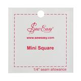 Sew Easy Template - Mini Square