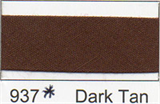 25mm Bias Binding - Dark Tan