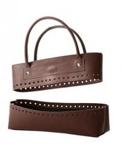 Bergere de France - Brown faux-leather bag kit