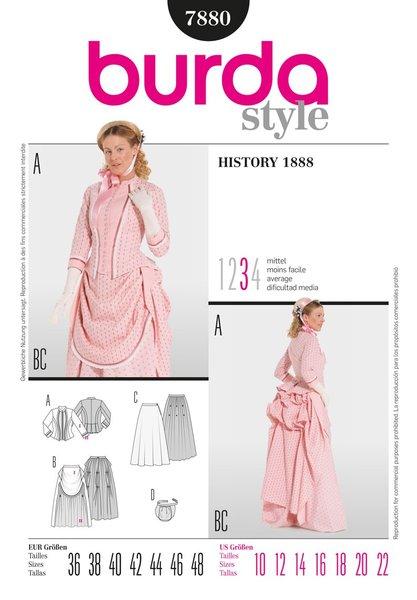 Burda Sewing Pattern - 7880