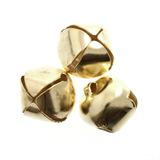 Bells: Jingle: 10mm: Gold: 9 Pack