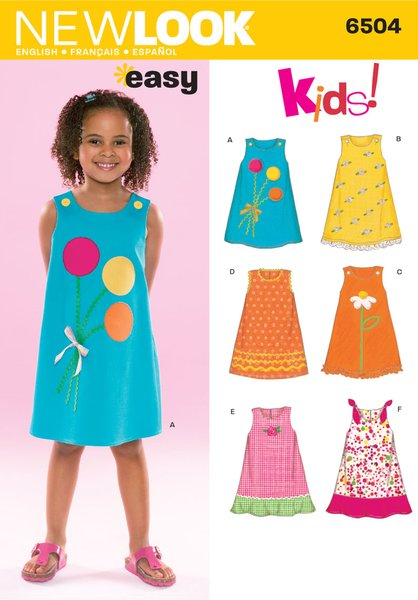 New Look Sewing Pattern 6504