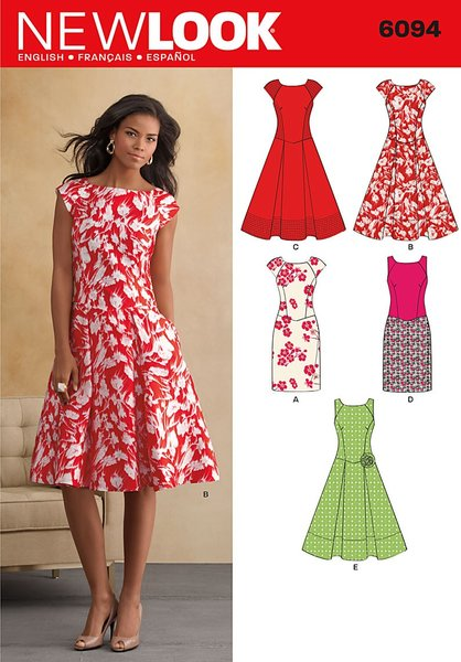 New Look Sewing Pattern 6094