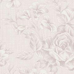 Clothworks - Emma's Garden - Floral - Light Taupe