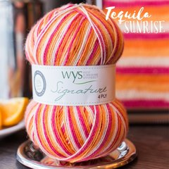 West Yorkshire Spinners - Signature 4ply - Tequila Sunrise