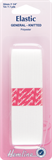 General Purpose Knitted Elastic: White - 1m x 32mm