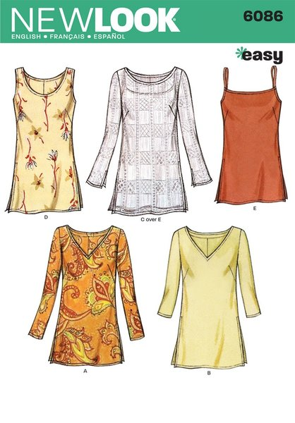 New Look Sewing Pattern 6086