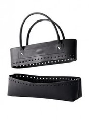 Bergere de France - Black faux-leather bag kit