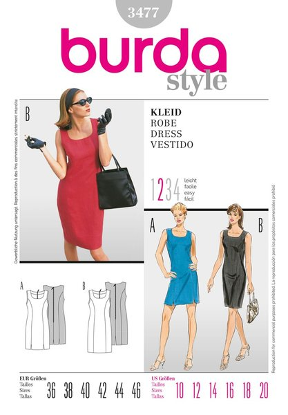 Burda Sewing Pattern - 3477