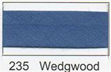 25mm Bias Binding - Wedgwood