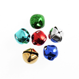 Bells: Jingle: 12mm: Assorted: 6 Pack