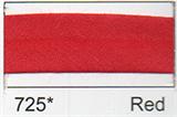 25mm Bias Binding - Red