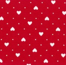Mini Hearts - Red