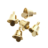 Bells: Liberty: 10mm: Gold: 6 Pack