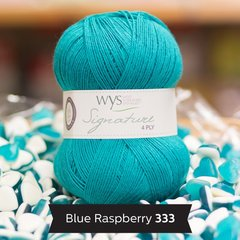 West Yorkshire Spinners - Signature 4ply - Blue Raspberry