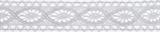 Cotton Lace: 5m x 20mm: White