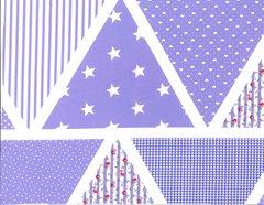 Bunting - Lilac