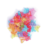 Shimmer Butterfly Beads: Placstic: 15g