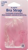 Bra Straps: Clear - 2pk