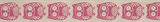 Natural Ribbon : 5m x 15mm: Owls: Pink