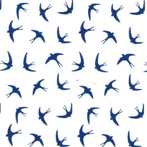Swallows - Blue