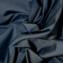 Polyester Cotton - Navy