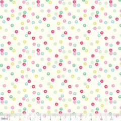 0.69mtr Remnant - Blend - Christmas Dear - Twinkle - Pink
