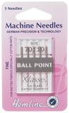 Ball Point Machine Needles - Fine 70/10